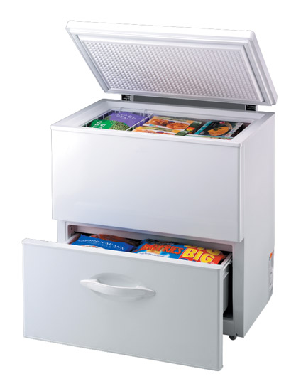 Chest Freezer With Drawer Click To Enlarge