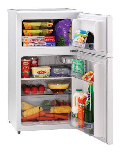 2 door undercounter refrigerator freezer 1