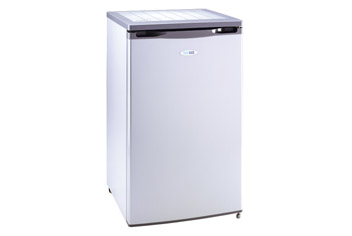 Silver Undercounter Freezer with 4 Star Rating